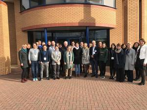The B-SMART consortium at the 2nd Progress Meeting in Malvern, UK